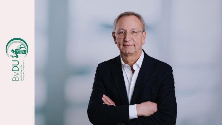 Wiedergewählt: BvDU-Präsident Dr. Axel Schroeder