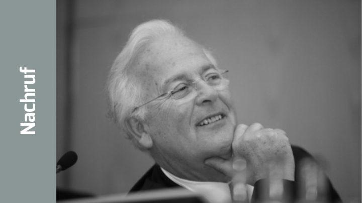 Dr. med. Klaus Schalkhäuser (1940 – 2018)