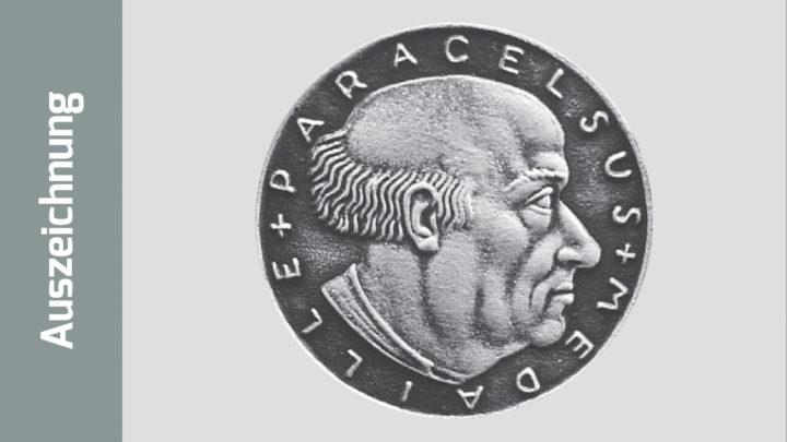 Foto von der Vorderseite der Medaille