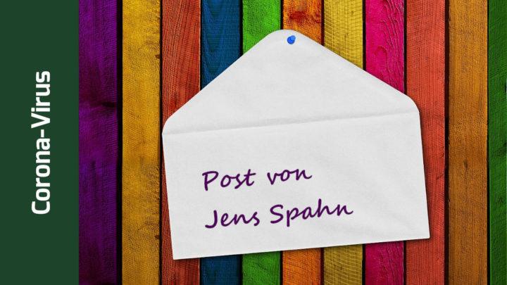 """Spahn schreibt Dankesbrief an Ärzte: """"Sie bilden den ersten Schutzwall"""""""