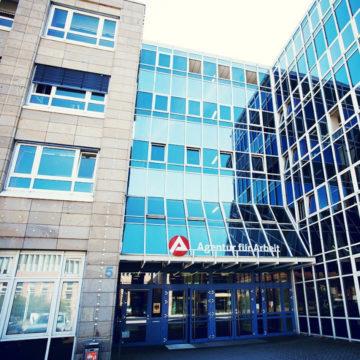 Gebäude der Agentur für Arbeit