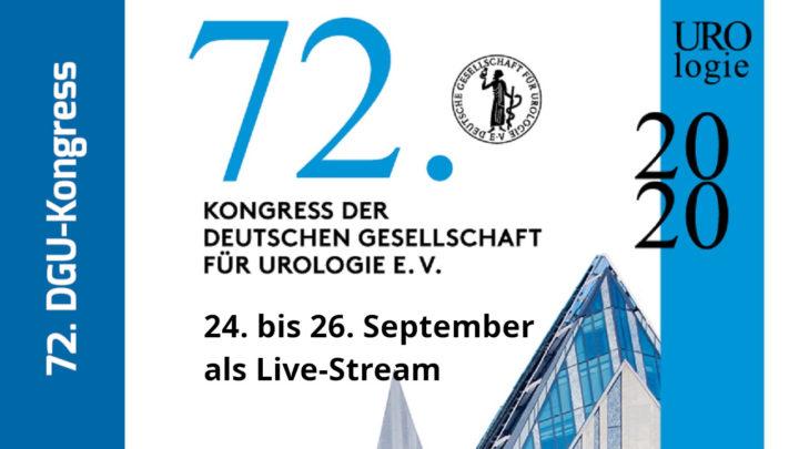 72. DGU-Kongress 2020 findet online statt