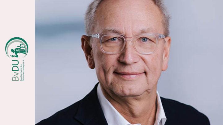 BvDU-Präsident Schroeder beabsichtigt im September sein Amt niederzulegen