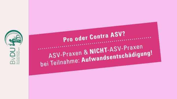 """PRO und CONTRA ASV im Bereich """"Urologische Tumore"""""""